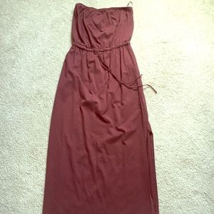 Theory strapless maxi
